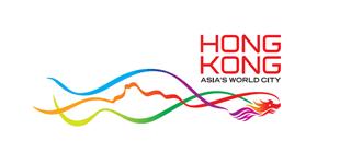香港品牌标识升级 飞龙舞狮山