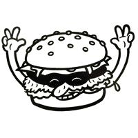 一家奥斯陆汉堡店标识