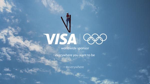 #everywhere Visa Refresh SLogan and logo