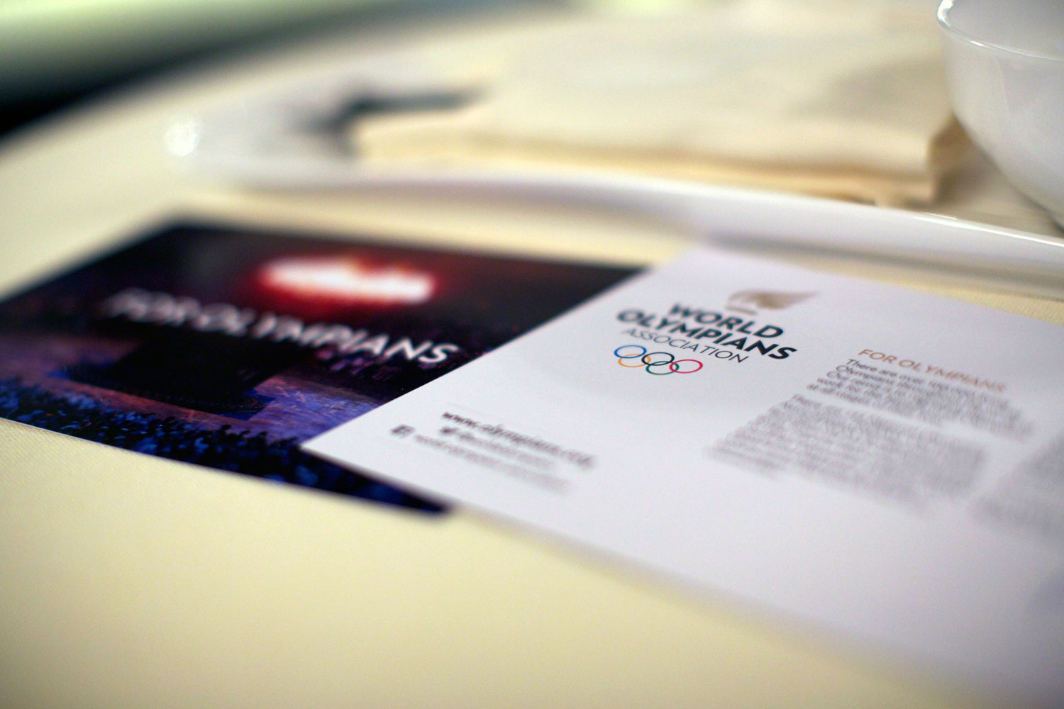 World-Olympians-Association-logo and business card