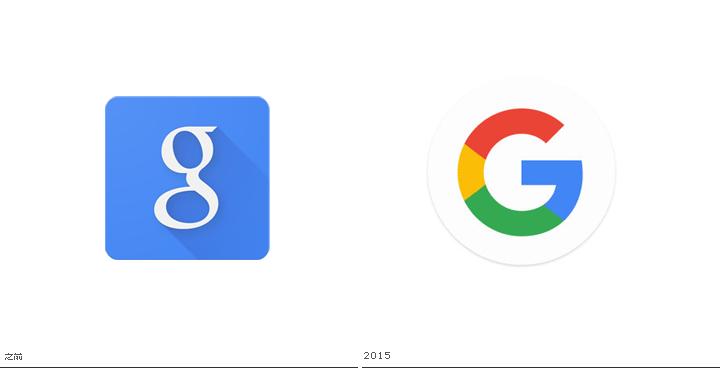 粗大事了,google logo evolving