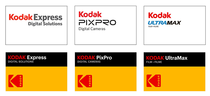 Kodak rebrand to 1971 logo